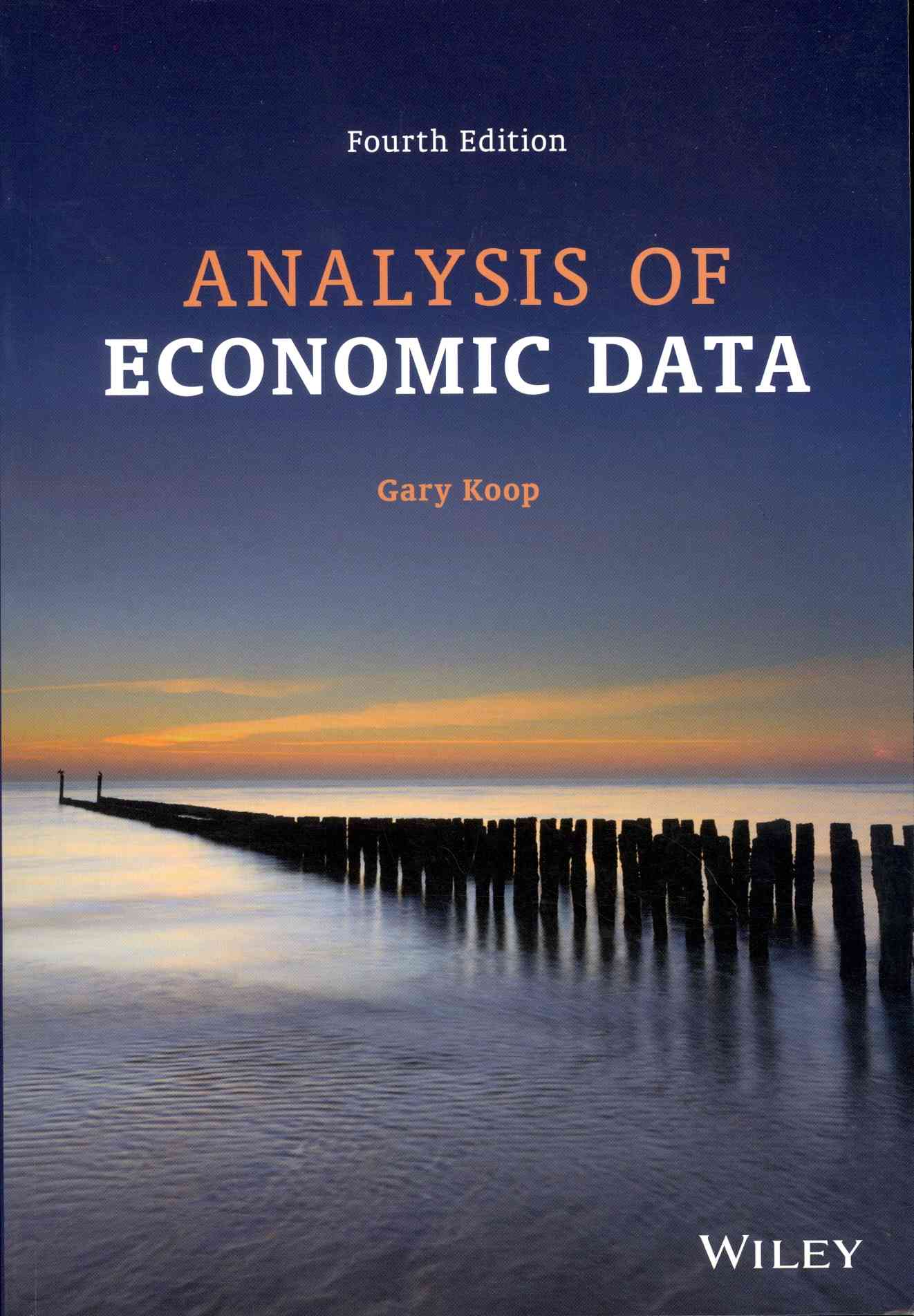 Analysis of Economic Data By Koop, Gary